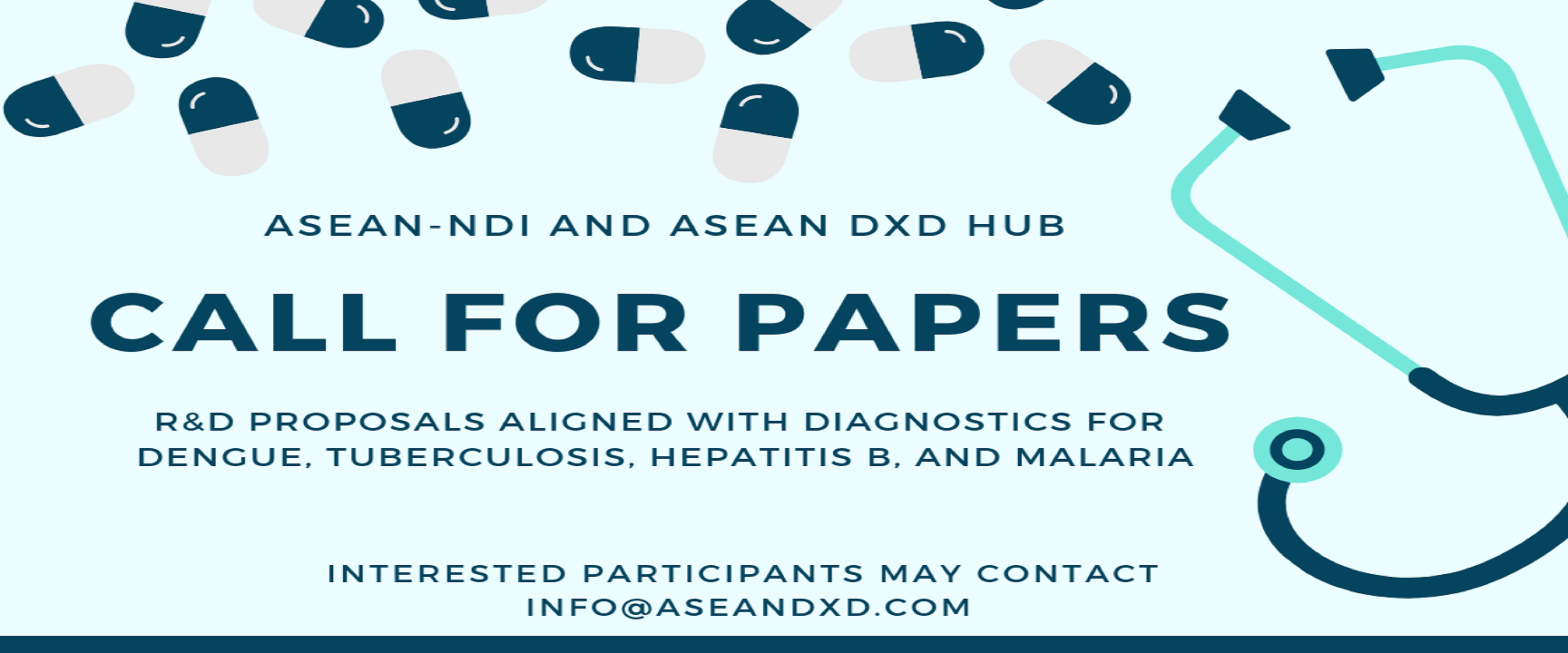 Call for Proposals - ASEAN DxD Initiative