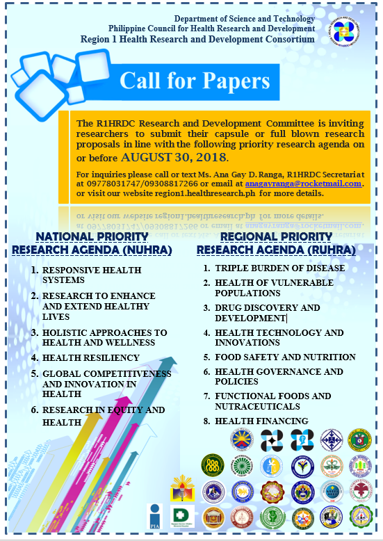 2018 Call for Research Proposals