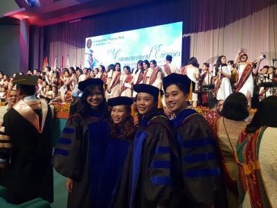 4 PCHRD MD-PhD Molecular Medicine Program scholars graduated
