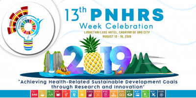 13th PNHRS Week tackles SDGs in health