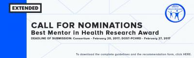 3 Ph health research awards for researchers