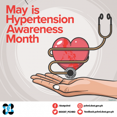 Celebrate hypertension awareness month this May