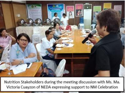Nutrition stakeholders ready for whole month celebration