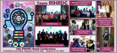R1HRDC Takes Home Prizes at the 2019 PNHRS Week Celebration at CDO