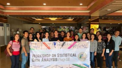 CHRDC conducts Statistical Data Analysis Workshop