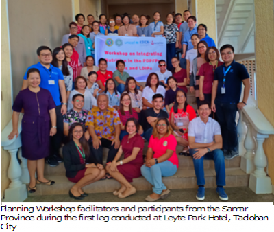 NNC 8 capacitates LGUs to integrate nutrition in the development plans