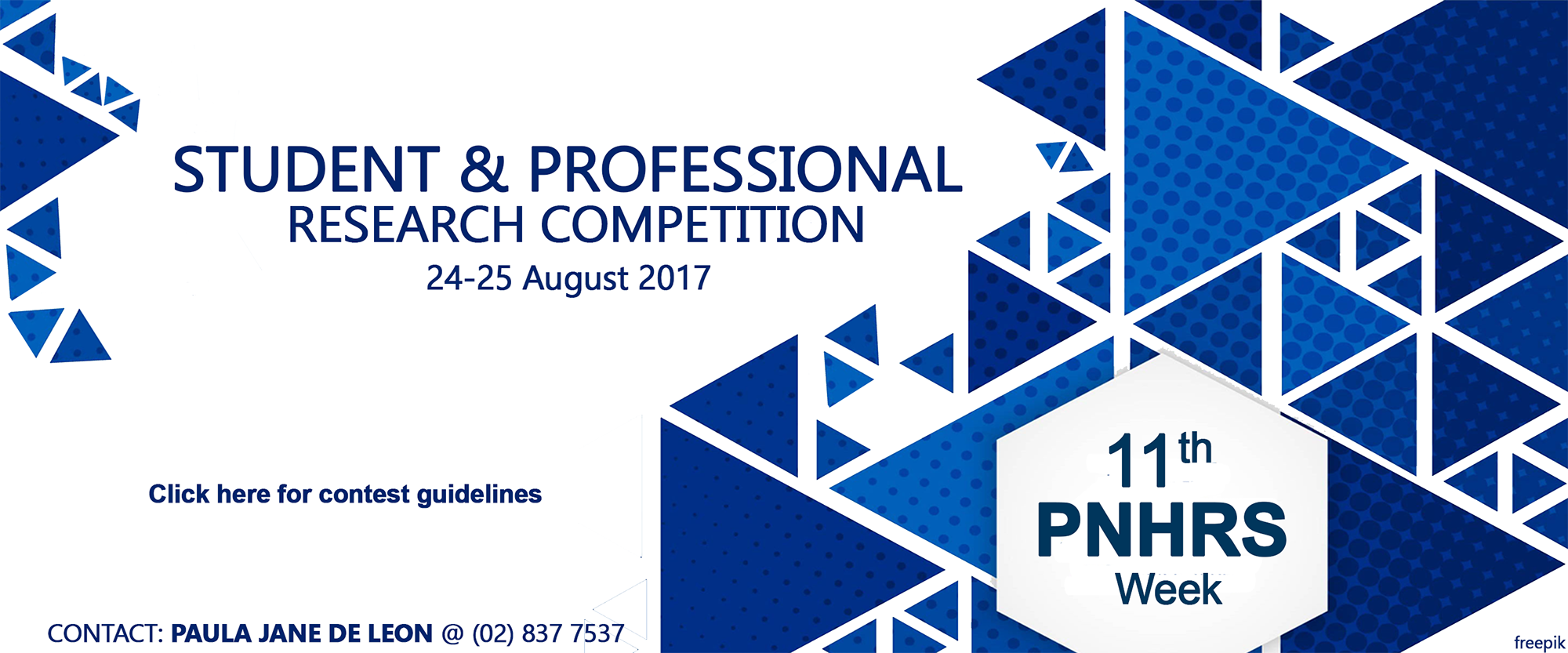 Student and Professional Research Competition